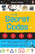 'Over 50 secret codes' book cover