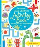 'Little children's activity book' book cover