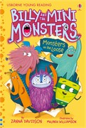 'Billy and the Mini Monsters – Monsters on the Loose' book cover