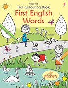 'First English words' book cover