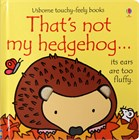 'That's not my hedgehog...' book cover