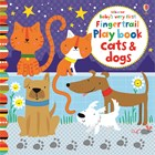 'Baby's very first fingertrail play book cats and dogs' book cover
