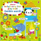 'Baby's very first play book garden words' book cover