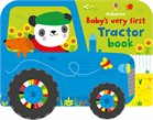 'Baby's very first tractor book' book cover