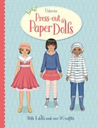 'Press-out paper dolls' book cover
