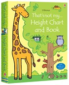 'That's not my… height chart and book' book cover