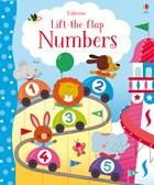 'Lift-the-flap numbers' book cover