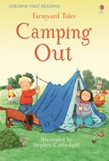 'Farmyard Tales Camping Out' book cover