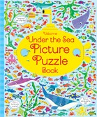 'Under the sea picture puzzle book' book cover