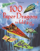 '100 paper dragons to fold and fly' book cover