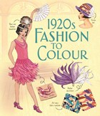 '1920s fashion to colour' book cover