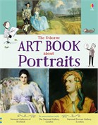 'The Usborne art book about portraits' book cover