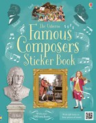 'Famous composers sticker book' book cover