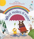 'What makes it rain?' book cover