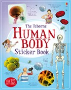Human body sticker book