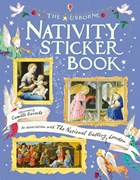 'Nativity sticker book' book cover