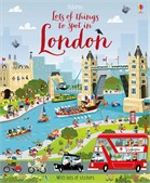 'Lots of things to spot in London' book cover