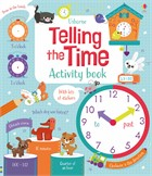 'Telling the time activity book' book cover