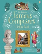 'Famous composers picture book' book cover