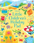 'Little children's holiday pad' book cover