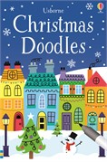 'Christmas doodles' book cover