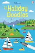 'Holiday doodles' book cover