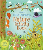 'Little children's nature activity book' book cover