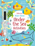 'Wipe-clean under the sea activities' book cover