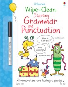 'Wipe-clean starting grammar and punctuation' book cover