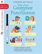 'Wipe-clean grammar and punctuation 5-6' book cover