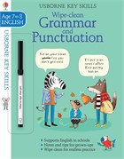 'Wipe-clean grammar and punctuation 7-8' book cover