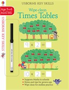 'Wipe-clean times tables 5-6' book cover