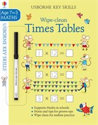 'Wipe-clean times tables 7-8' book cover