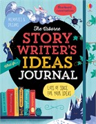 'Story writer's ideas journal' book cover