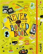 'Never get bored book' book cover