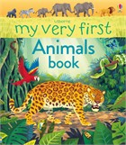 'My very first animals book' book cover