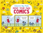 'Make your own comics' book cover