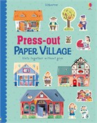 'Press-out paper village' book cover