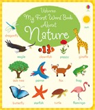 'My first word book about nature' book cover