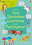 'First illustrated grammar and punctuation' book cover