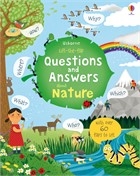'Lift-the-flap questions and answers about nature' book cover