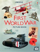 'First World War picture book' book cover