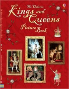 'Kings and queens picture book' book cover