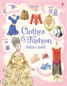 'Clothes and fashion picture book' book cover