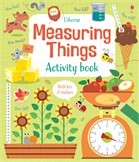 'Measuring things activity book' book cover