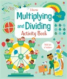 'Multiplying and dividing activity book' book cover