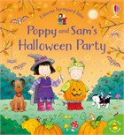 'Poppy and Sam's Halloween party' book cover