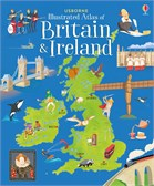 'Usborne illustrated atlas of Britain and Ireland' book cover