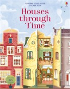 'Houses through time sticker book' book cover