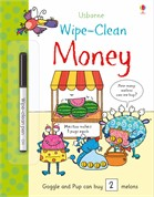 'Wipe-clean money' book cover